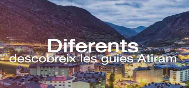 Diferents, descobreix les nostres guies de viatge