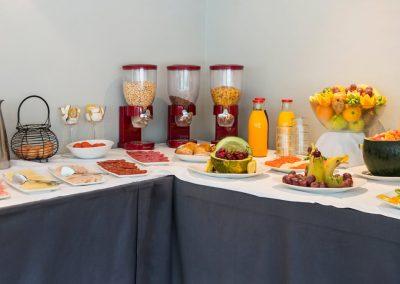 Arenas desayuno buffet