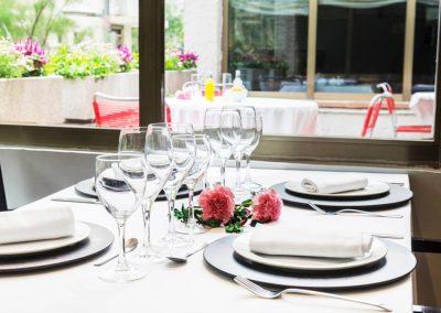 Arenas restaurante mesa