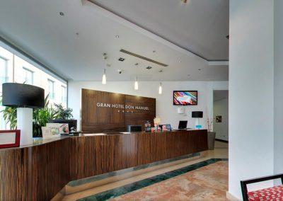 GRAN HOTEL DON MANUEL Recepcion