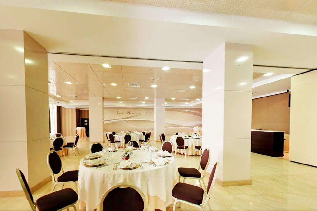 GRAN HOTEL DON MANUEL  banquete 2