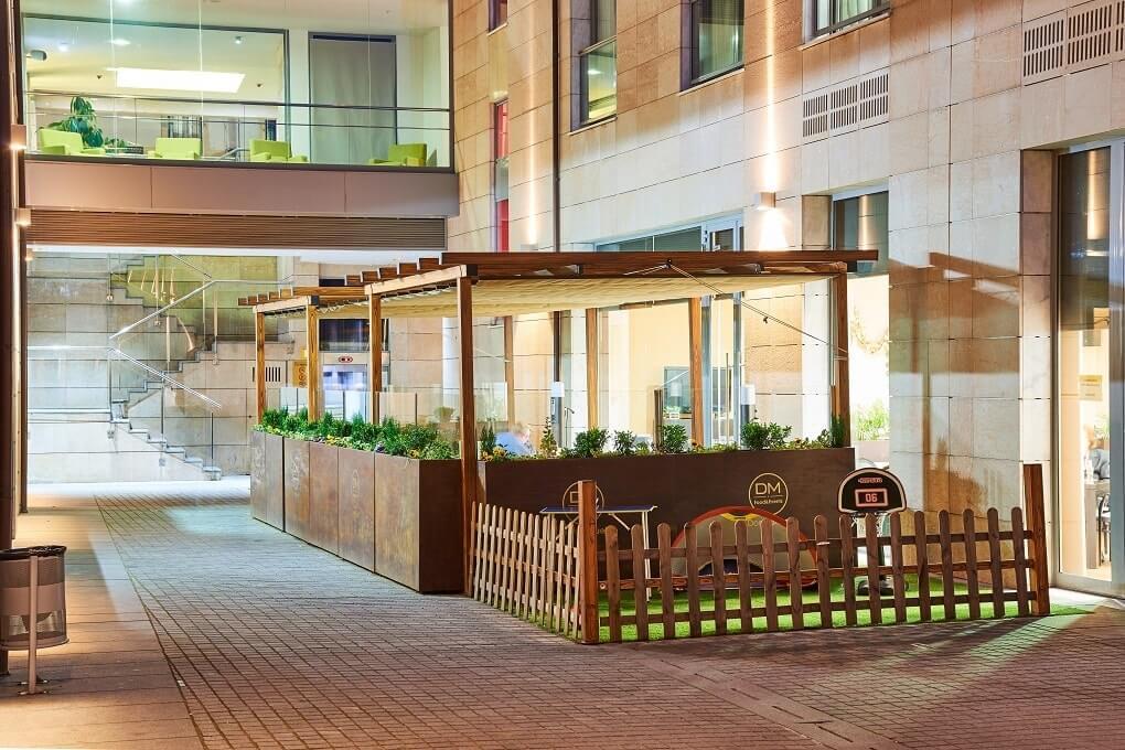 GRAN HOTEL DON MANUEL terraza juegos