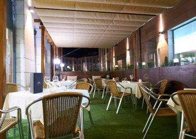 GRAN HOTEL DON MANUEL terraza