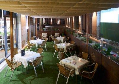 GRAN HOTEL DON MANUEL terraza 2