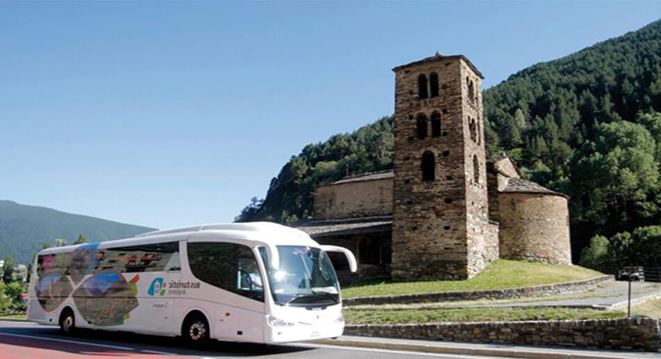Descobreix Andorra al Bus Turístic