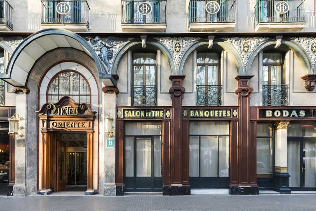 Oriente Atiram Hotels Ramblas Barcelona