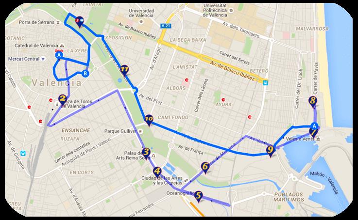 ruta B maritima