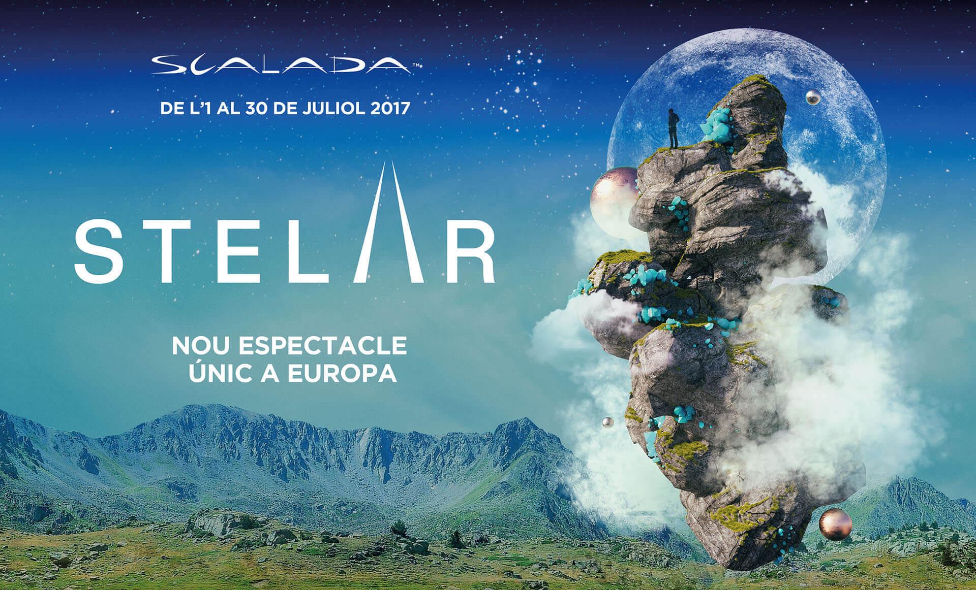 Scalada:Stelar by Cirque du Soleil en Andorra