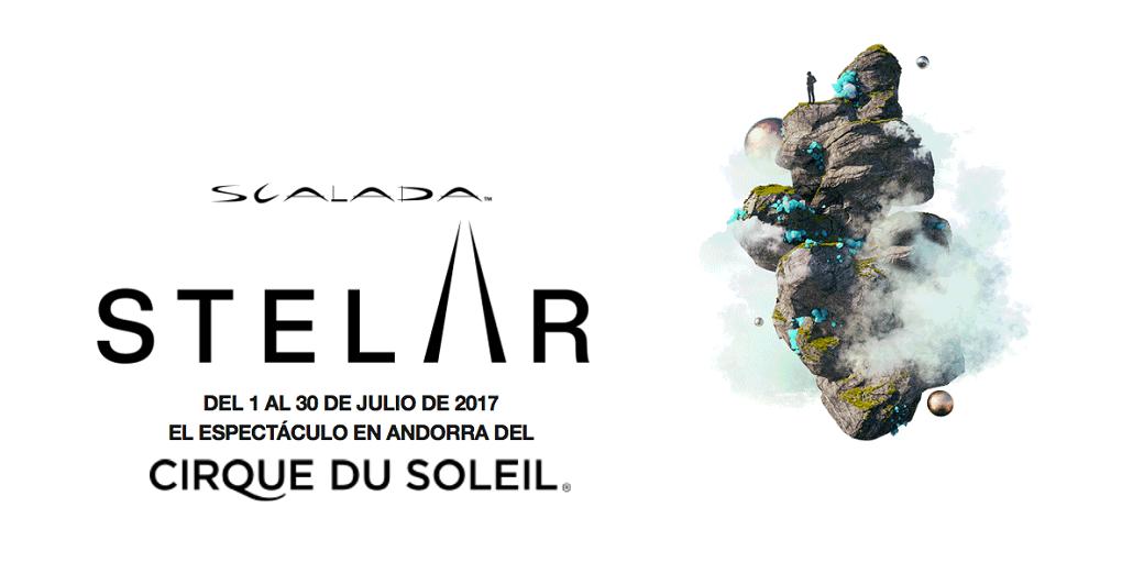 Scalada:stelar by cirque du soleil