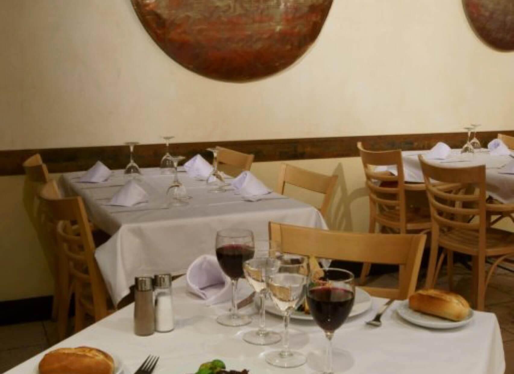 Patagonia mesa restaurante
