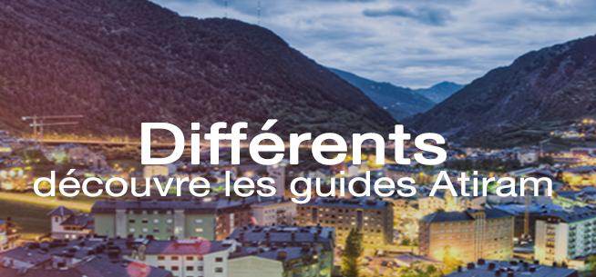 Différents, découvre nos guides de voyage