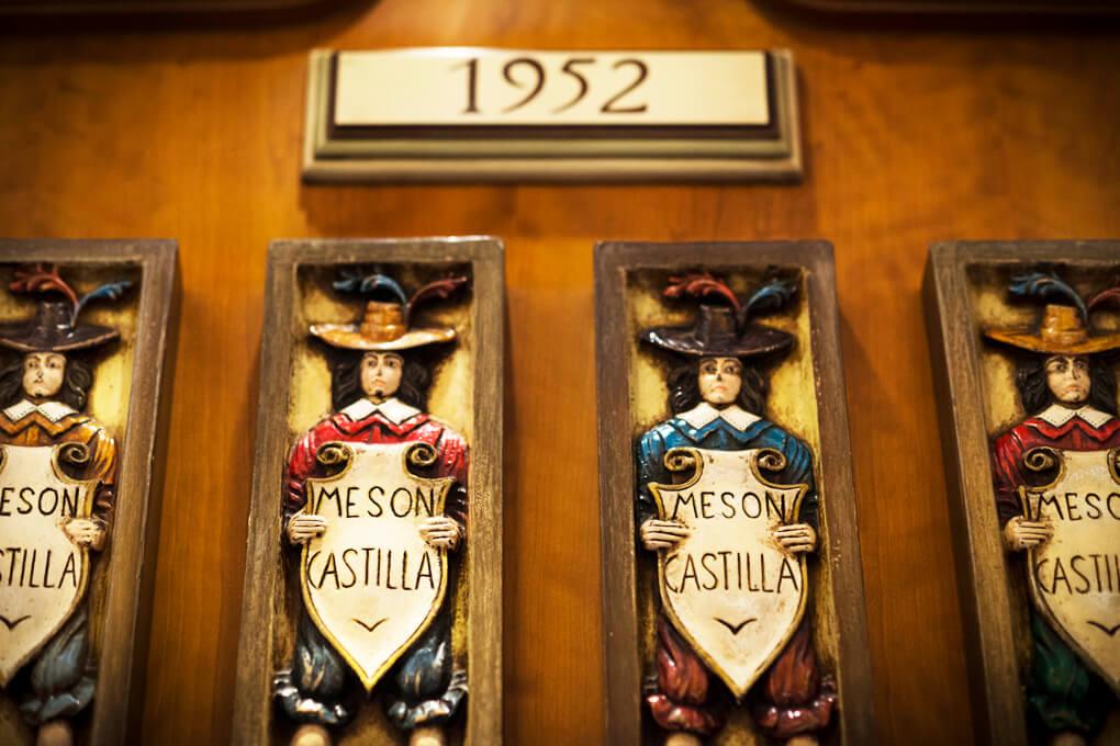 Mesón Castilla Atiram detalle