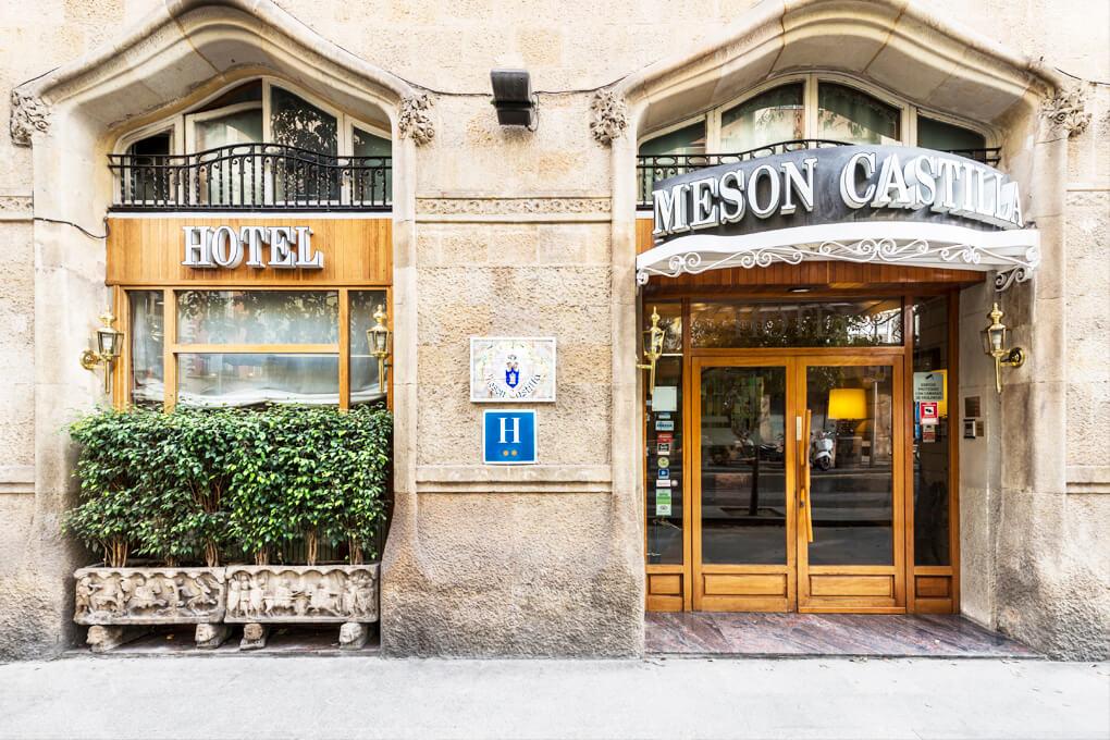 Mesón Castilla Atiram fachada