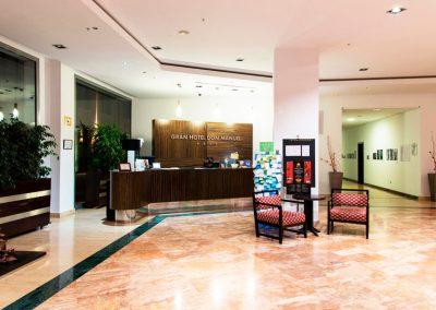 GRAN HOTEL DON MANUEL  recepcion 3