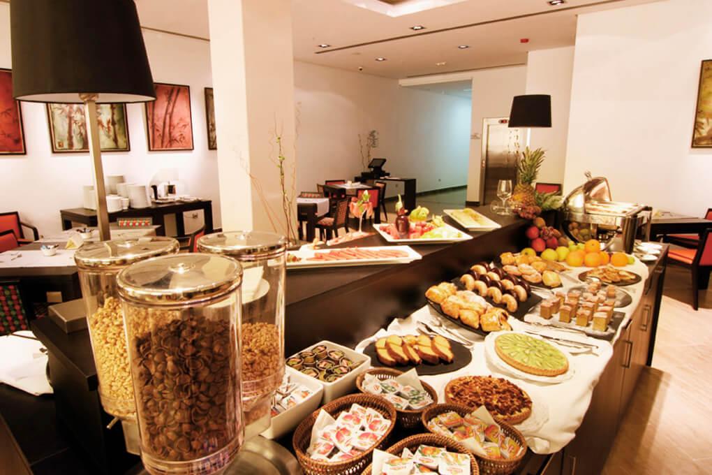 GRAN HOTEL DON MANUEL  restaurante desayunos