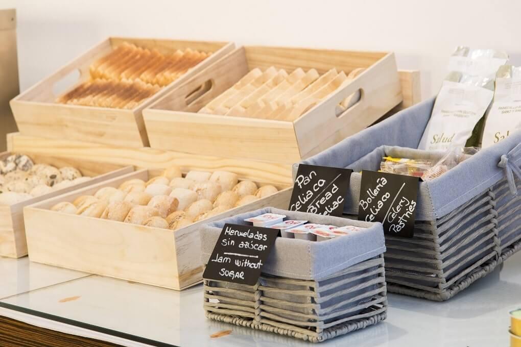 GRAN HOTEL DON MANUEL desyuno pan
