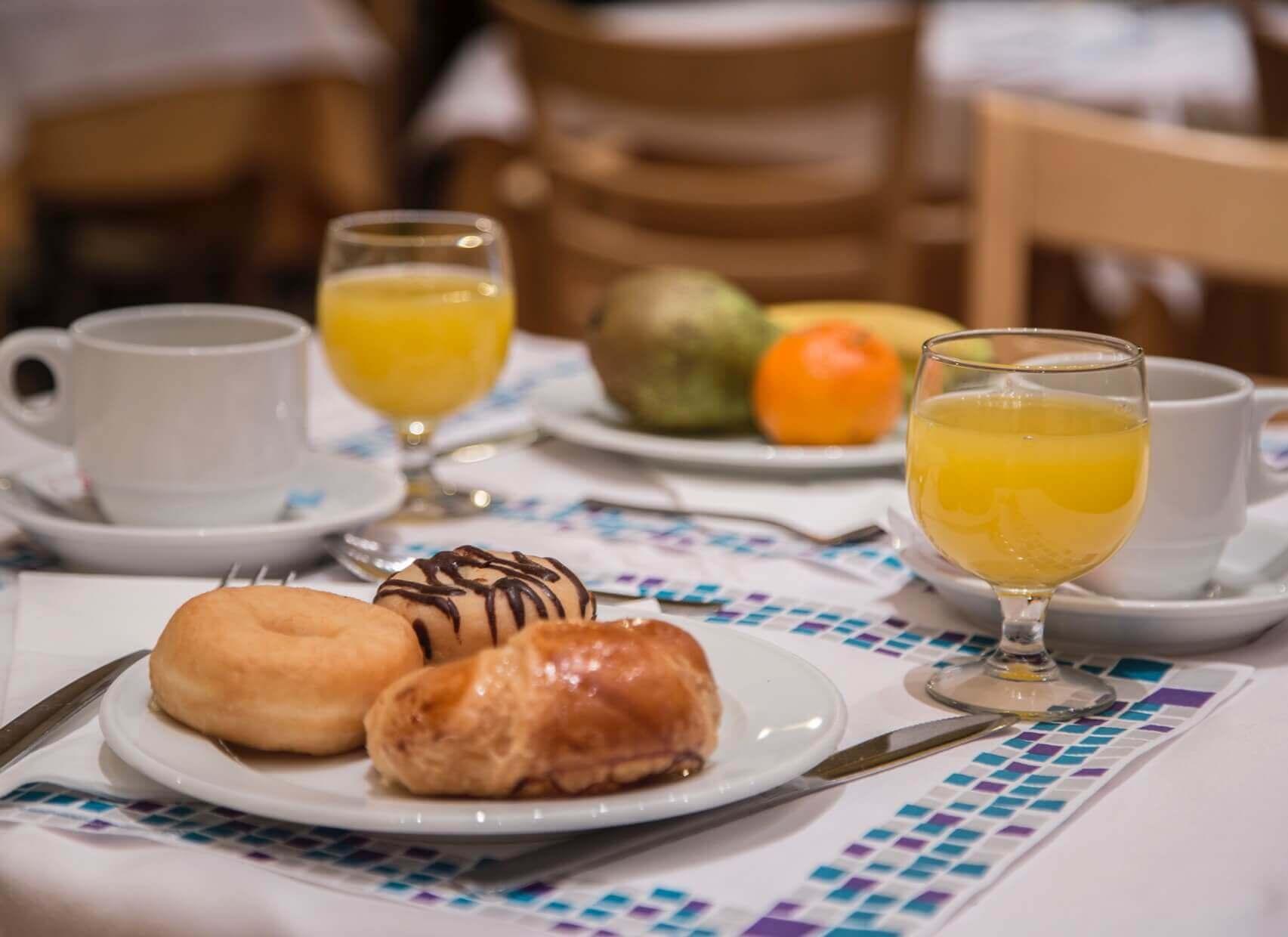 Patagonia mesa desayuno