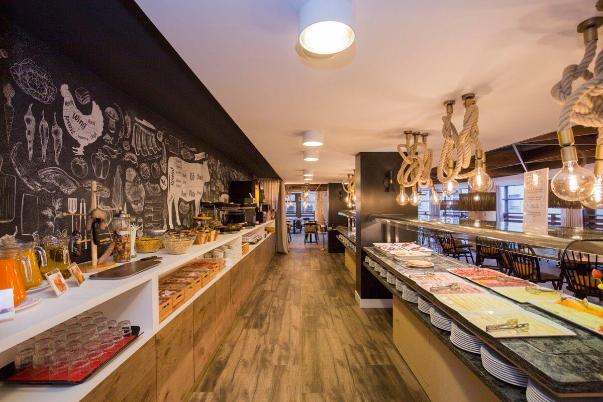 Centric Restaurante buffet 8