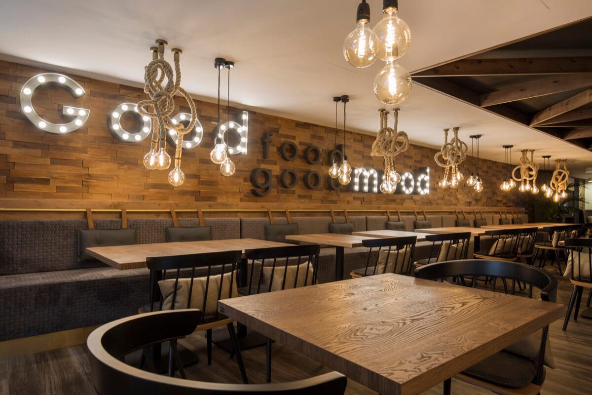Centric Restaurante letras