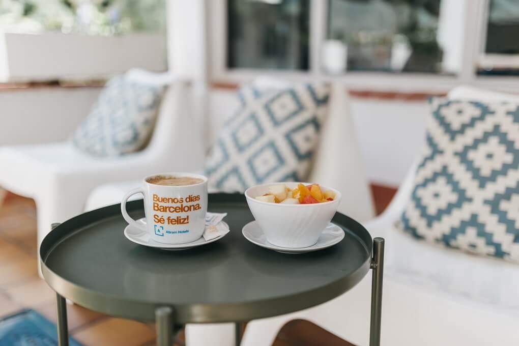 Arenas Atiram terrassa esmorzars