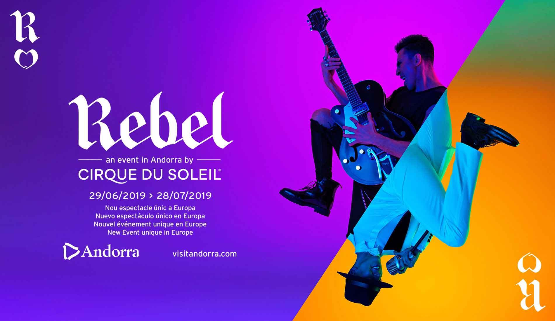 Rebel by Cirque du Soleil