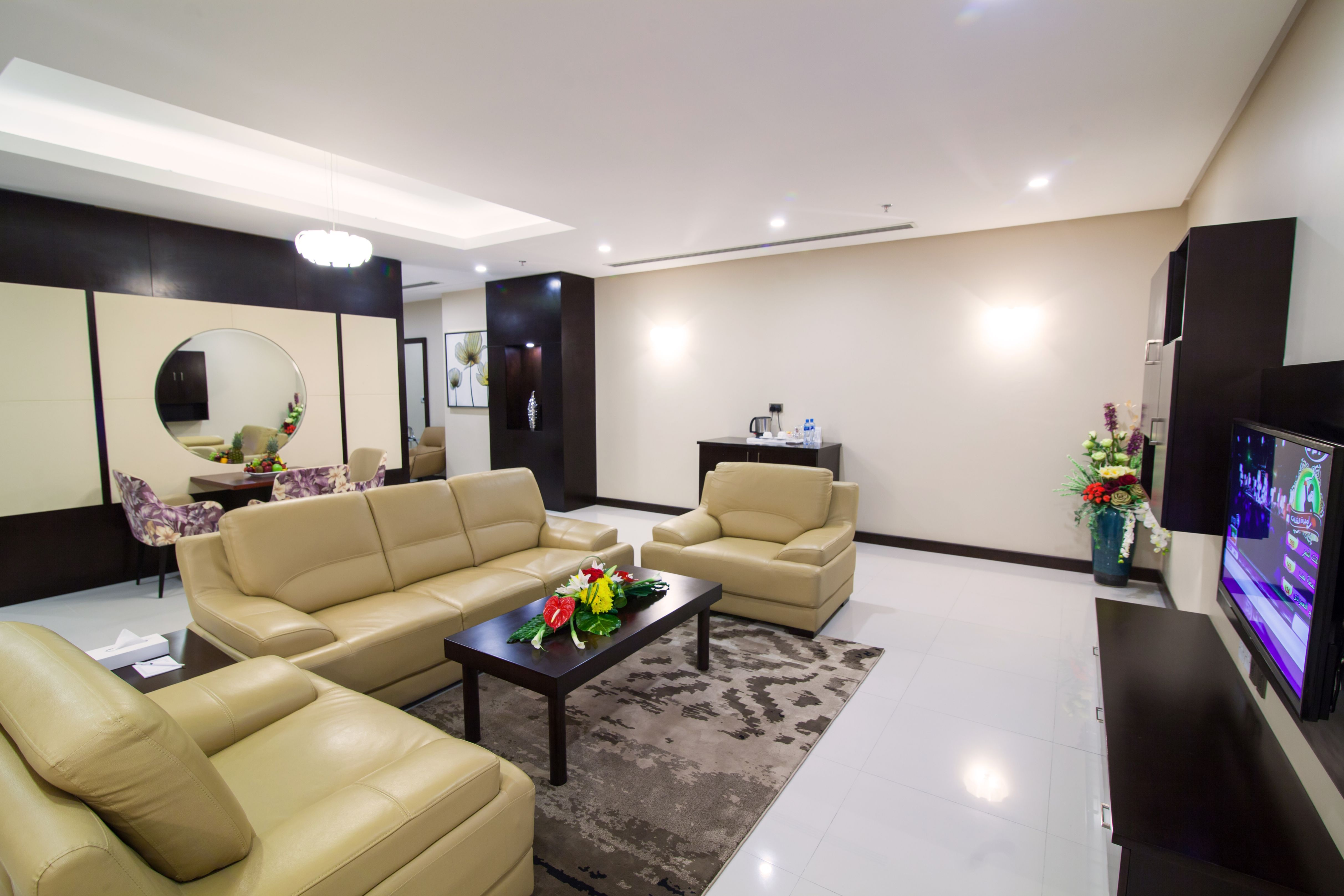 Executive Suite Living Room 1